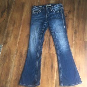 Vigoss Skinny Boot Cut Jeans